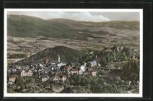 Ansichtskarte Lindenfels, Blick zum Ort