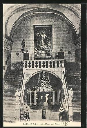 Carte postale Lurs, Notre Dame des Anges