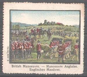 Poster stamp Serie: Internationales Militär, englisches Militär