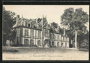 Carte postale Dreux, Château de la Mésangére