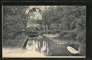 Carte postale Athis-Mons, Pont du Chemin de