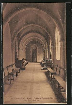 Carte postale Arcis-le-Ponsart, Le Cloitre de Lecture