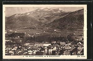 Carte postale Malaucene, Vue generale et le