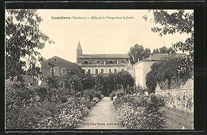 Carte postale Lumières, Allée de la Vierge