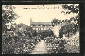 Carte postale Lumieres, Allee de la Vierge