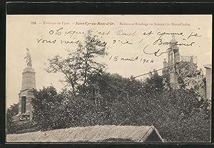 Carte postale Saint-Cyr-au-Mont-d'Or, la Madone et l'ermitage