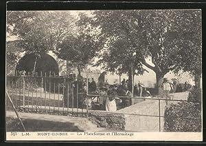 Carte postale Saint-Cyr-au-Mont-d'Or, la plateforme et l'ermitage
