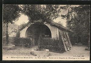 Carte postale Saint-Cyr-au-Mont-d'Or, l'entrée de la chapelle