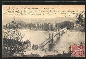 Carte postale Givors, le pont de Chasse