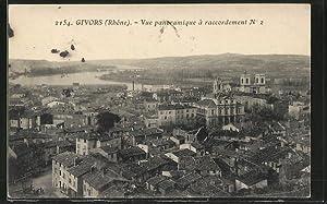 Carte postale Givors, vue d'ensemble prise en