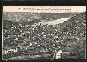 Carte postale Givors, vue générale avec le