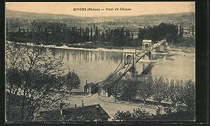Carte postale Givors, Pont de Chasse
