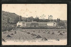 Carte postale Givors, Hôpital-Hospice de Montgelas