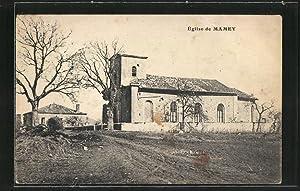 Carte postale Mamey, l'église, vue d'ensemble