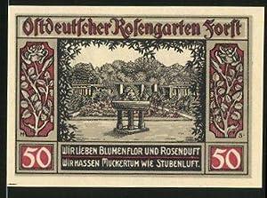 Notgeld Forst in der Lausitz 1921, 50