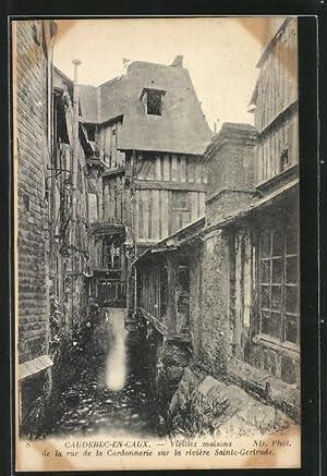 Carte postale Caudebec-en-Caux, Vieilles Maisons de la