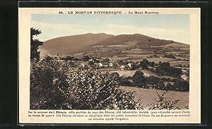 Carte postale Mont Beuvray, vue générale