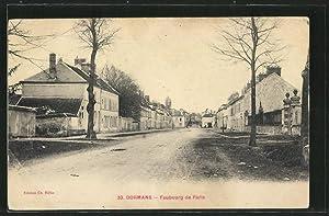 Carte postale Dormans, Faubourg de Paris
