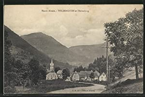 Carte postale Wildenstein, et l'Altenberg, L'église