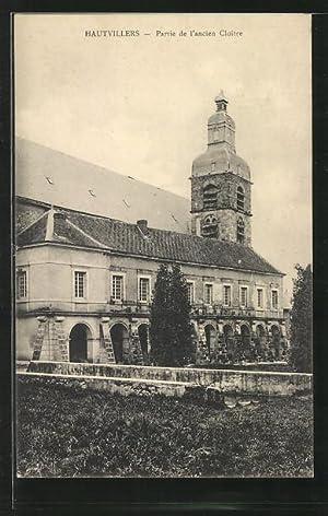 Carte postale Hautvillers, Partie de l'ancien Cloître