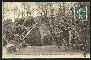 Carte postale Juvisy-sur-Orge, L'Orge aux Belles-Fontaines, Vue