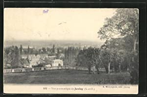 Carte postale Juvisy, Vue panoramique sur la