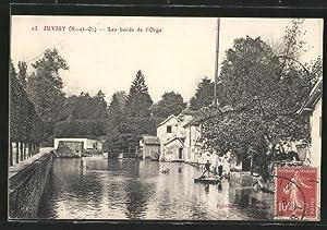 Carte postale Juvisy, Les bords de l'Orge