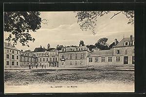 Carte postale Juvisy, La Mairie, vue extérieure