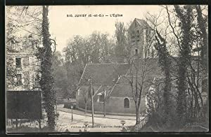 Carte postale Juvisy, L'Église, vue extérieure