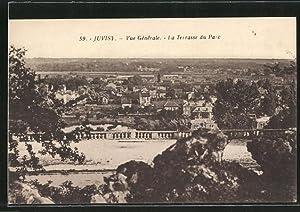 Carte postale Juvisy, Vue Générale, La Terrasse