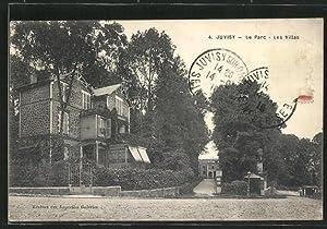 Carte postale Juvisy, Le Parc, Les Villas