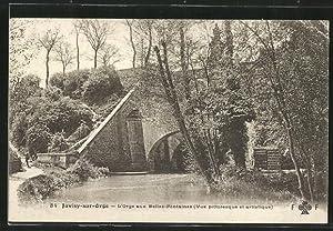Carte postale Juvisy-sur-Orge, L'Orge aux Belles-Fontaines
