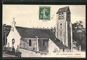 Carte postale Juvisy, L'Eglise