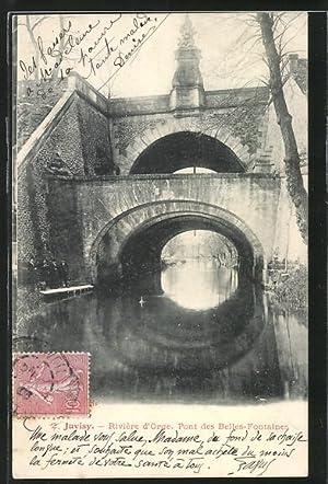 Carte postale Juvisy, le pont des Belles