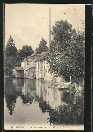 Carte postale Juvisy, vue sur l'Orge, la