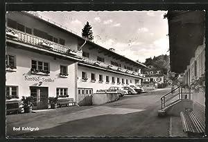 Ansichtskarte Bad Kohlgrub, Ortspartie mit Blick auf