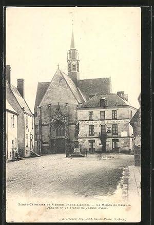 Carte postale Sainte-Catherine de Fierbois, La Maison