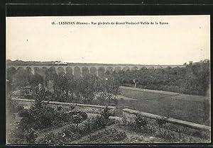Carte postale Lusignan, Vue générale du Grand
