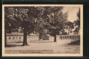Carte postale Mindin, Maison départementale de Convalescense