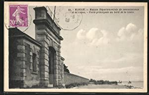 Carte postale Mindin, la maison départementale de