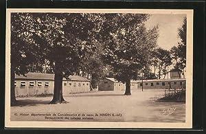 Carte postale Mindin, maison départementale de convalescence