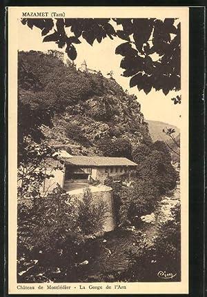 Carte postale Mazamet, Château de Monlédier, La