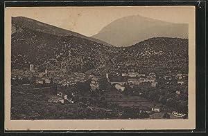 Carte postale Mollans, vue générale et le