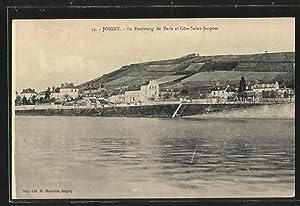 Carte postale Joigny, le Faubourg de Paris