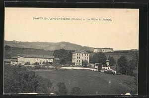 Carte postale St-Genis-l'Argentiere, La Villa St-Joseph