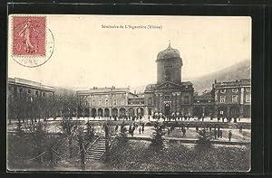 Carte postale L'Argentière, le séminaire, vue d'ensemble