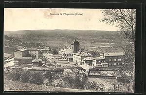 Carte postale L'Argentière, le séminaire vu en