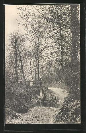Carte postale L'Argentière, Breveune et Pont de