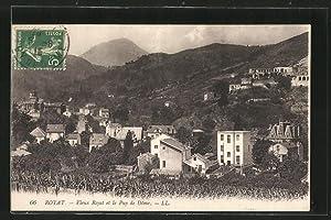 Carte postale Royat, Vieux Royat et le