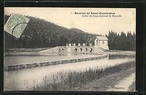 Carte postale Saint-Christophe, Bassins, Sortie des Eaux